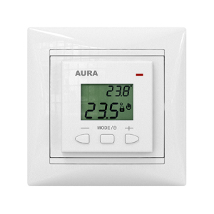 Терморегулятор электронный AURA LTC 070 (LEGRAND) белый
