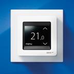 Терморегулятор для теплых полов Devireg Touch (арт. 140F1064) (терморегулятор DEVI Деви) цвет белый
