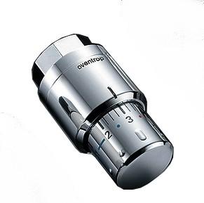 Термостатическая головка Oventrop M30x1,5 арт. 1012069 (хромированная) с жидкостным элементом серия Uni SH