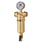 Самопромывной фильтр для воды ICMA, двухсторонняя резьба (вн. резьба 1/2, нар. резьба 3/4) 750/83750AD05