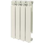 Радиатор алюминиевый STOUT Bravo 500 4 секции, боковое подключение, SRA-0110-050004