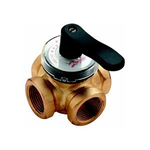 Клапан регулирующий поворотный Danfoss HRB 3, Ду 20, арт. 065Z0405