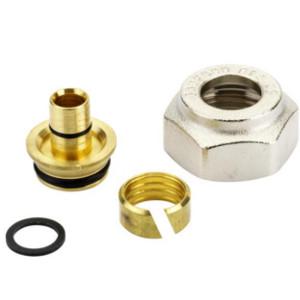 Компрессионный фитинг Danfoss внутренняя резьба G 3/4 для металлополимерных труб (ALUPEX) 16 x 2 мм, арт. 013G4186