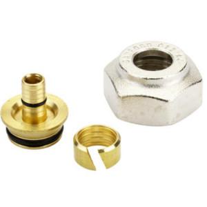 Компрессионный фитинг Danfoss внутренняя резьба G 3/4 для полимерных труб (PEX) 16 x 2 мм, арт. 013G4156