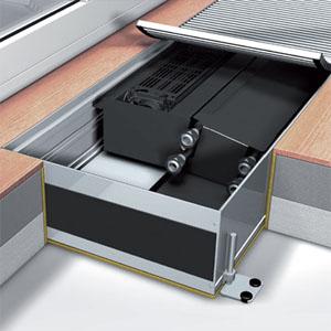 Встраиваемый конвектор Mohlenhoff QSK EC HK 2L 320-140-1000 (без решетки)