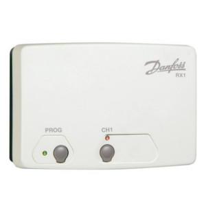 Приемник сигнала беспроводных термостатов Danfoss RX-1, 1 канал, арт. 087N7476