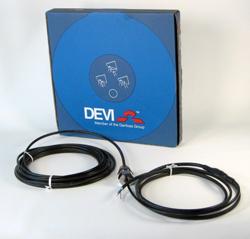 DEVI Нагревательный кабель DEVIaqua™ 9Т  (DTIV-9) 169 / 185 Вт 20 м, 140F0006