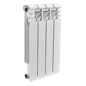 Rommer Profi Bm 350 Bi 350-80-130, литой биметаллический радиатор, 1 секция
