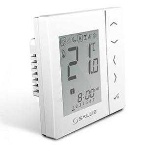Программируемый термостат для скрытой проводки Salus VS30W, белый