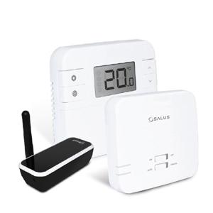 Программируемый термостат управляемый через Интернет Salus RT310i