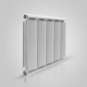 Алюминиевый радиатор Silver 350, белый, 2 секции