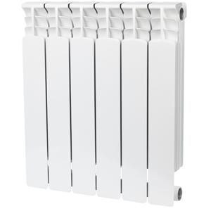 Радиатор биметаллический STOUT Space 500 6 секции, боковое подключение, SRB-0310-050006
