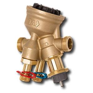 Tour & Andersson Комбинированный балансировочный регулирующий клапан TA-COMPACT-P, DN10, наружная резьба, AMETAL, 52164010