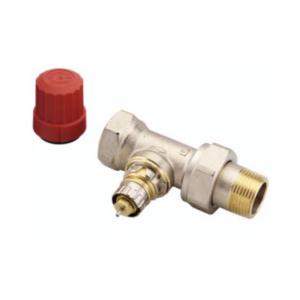 """Клапан радиаторного терморегулятора RA-N 20 3/4"""" угловой никелированный Danfoss (арт. 013G0015), 013G7015"""
