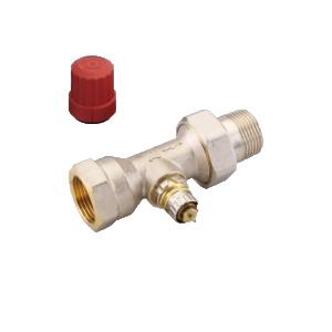 """Клапан радиаторного терморегулятора RA-N 25 1"""" прямой никелированный Danfoss (арт. 013G0038), 013G7018"""