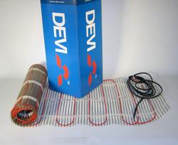 Девимат DTIF-150 69 / 75 Вт 0,45 x 1 м 0,5 нагревательные маты для электрического теплого пола DEVI, (140F0429), 140F0444