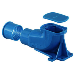 Настенная коробка Uponor UP разборная под кожух 25/20 и 28/23 (синяя), арт. 1008845
