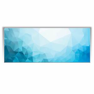 """Дизайн-конвектор Varmann GlassKon 80.180.1520, горизонтальный, настенный монтаж, подключение """"сбоку"""""""