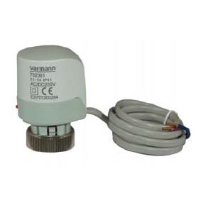 Термоэлектрический сервопривод Varmann  ~220В  702361