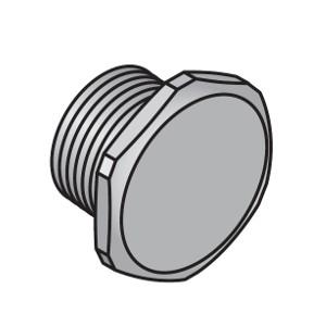 "Заглушка Uponor для коллектора S/SH латунь 1"" НР, арт. 1014123"