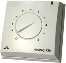 Терморегулятор Devireg™ 132 (140F1011) DEVI для теплого пола