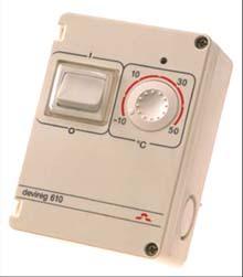 Терморегулятор Devireg™ 610 (140F1080) DEVI