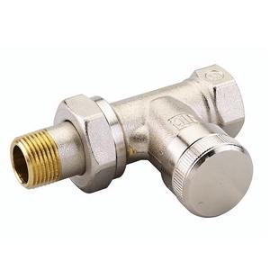 """Запорный радиаторный клапан (на обратку) Danfoss RLV-20 3/4"""" прямой никелированный (арт. 003L0146)"""